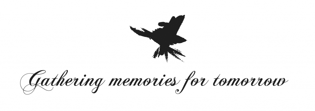 JoostVH slogan: gathering memories for tomorrow